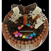 KIT KAT CHOCO HUNT CAKE