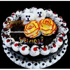 Chocolate cute doggies cake