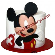 Mickey mouse standing cake (2 kg)