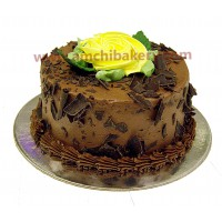 Chocolate Flaky Cake